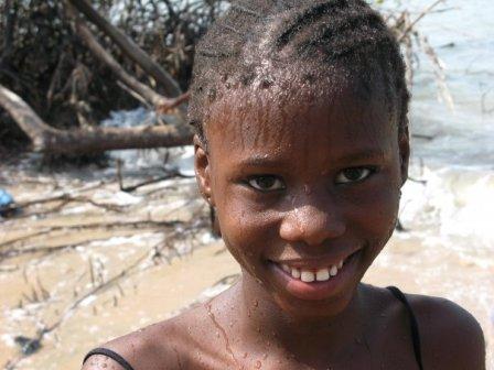 Crianças da Guiné