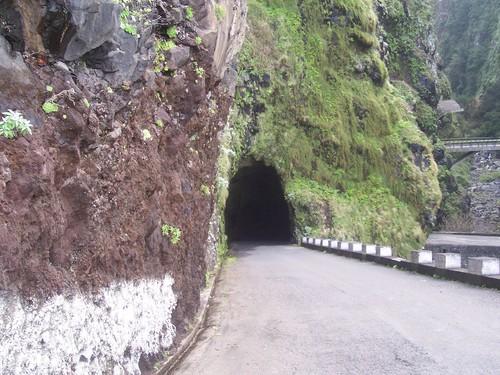 Estrada entre S. Vicente e Porto Moniz