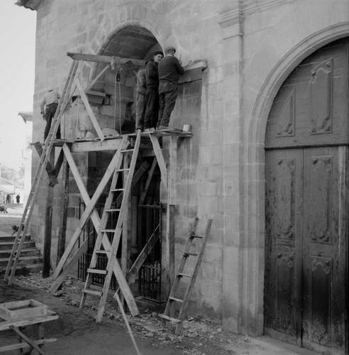 Obras na Igreja Matriz, Chaves