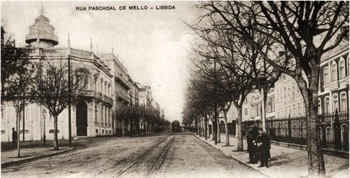 Rua Paschoal de Mello, Lisboa (Arquivo de Marina Tavares Dias)