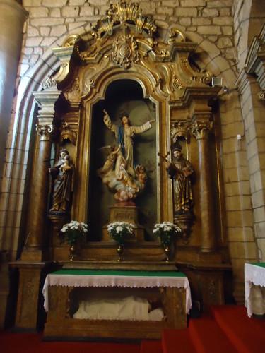 altar de Nª Srª das Graças, igreja matriz
