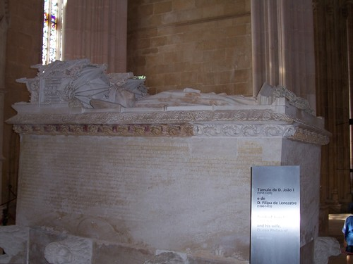 Mosteiro da Batalha - Tumulo de D. João I