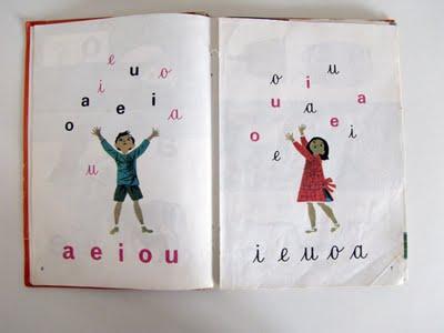 Livro de Leitura da Primeira Classe do Ministério da Educação Nacional (in Planeta Tangerina)