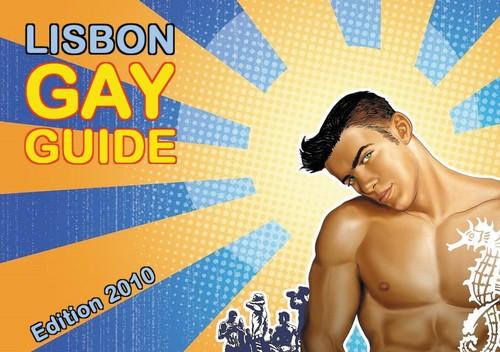 Lisbon Gay Guide - capa da edição de 2010