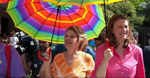 A senadora Marta Suplicy e a ministra Maria do Rosário