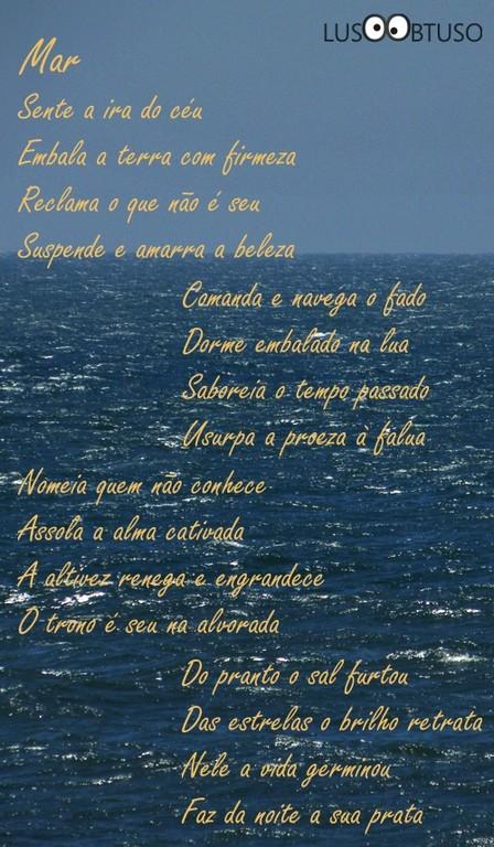 Poema do Luso ao Mar