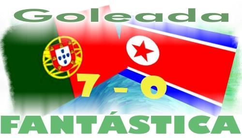 Portugal - Coreia Norte