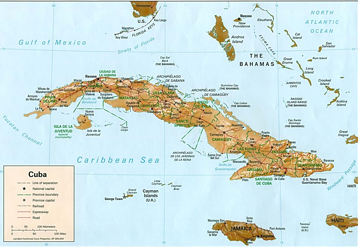 Mapa Cuba Wiki