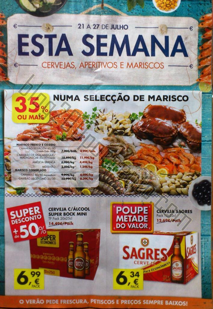 Antevisão Folheto PINGO DOCE Promoções de 21 a