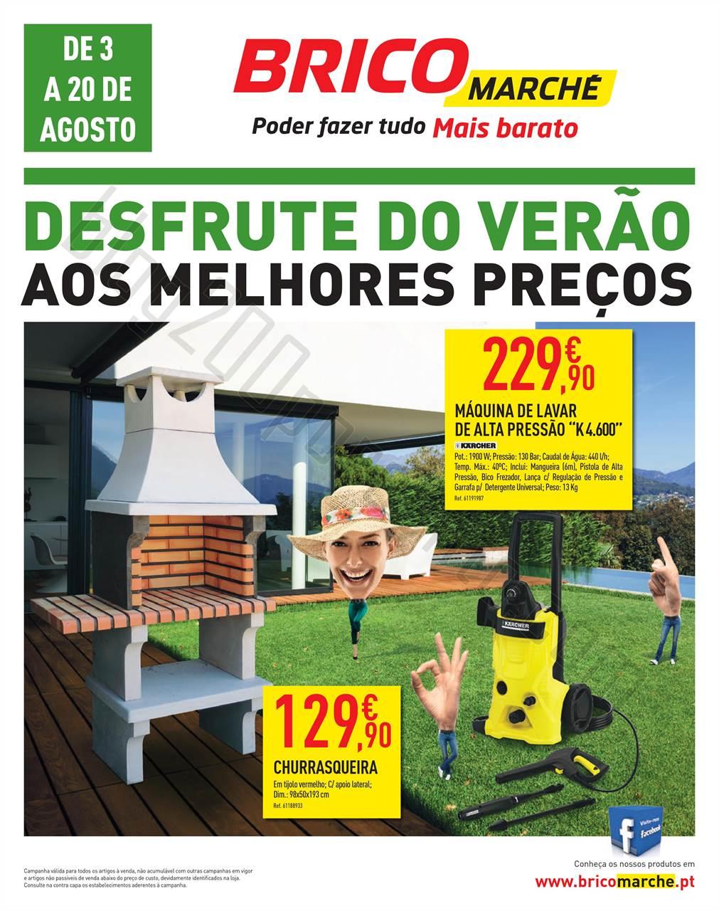 Antevisão Folheto BRICOMARCHÉ Promoções de 3 a