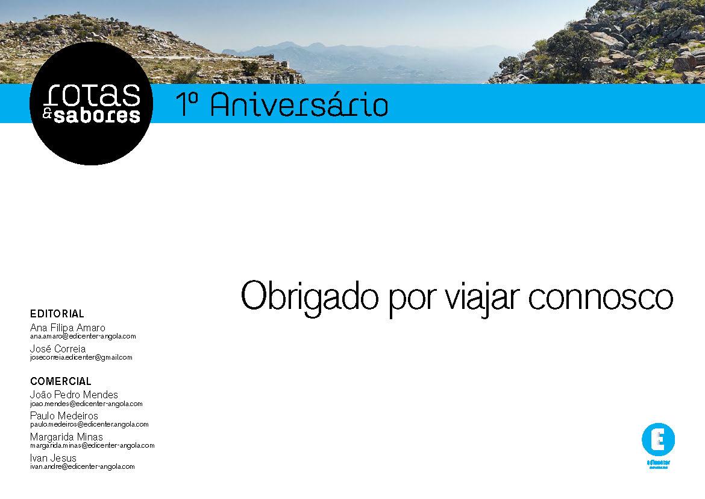 Rotas & Sabores - 1º Aniversario