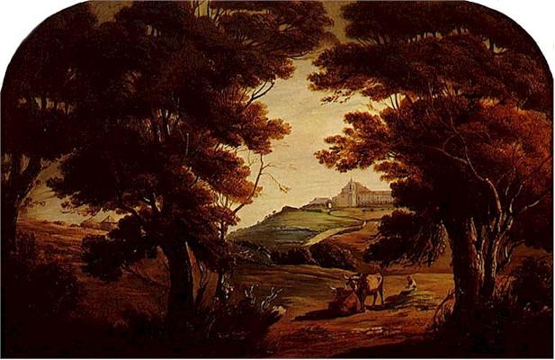 Tomás d' Anunciação, Vista da Penha de França, 1857 (Museu do Chiado)