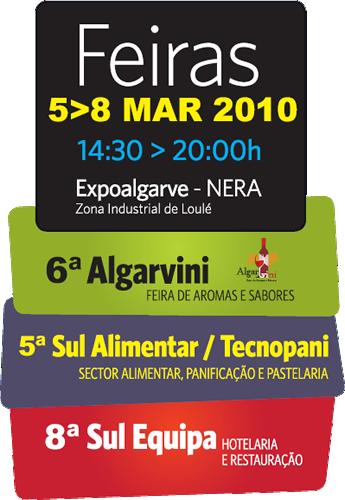 Algarvini, Sul Alimentar / Tecnopani e Sul Equipa na Expoalgarve NERA, Loulé