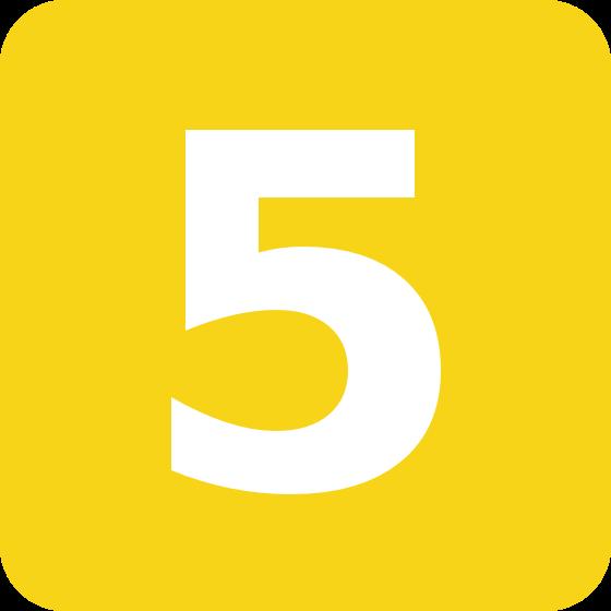 CINCO ANOS - FIVE YEARS