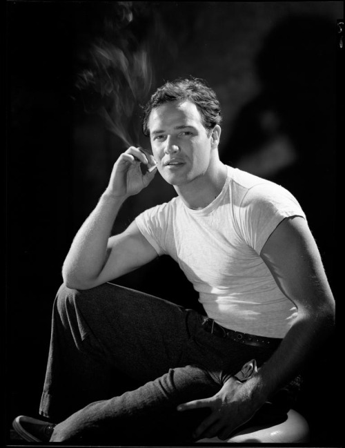 arlon Brando camera negative by John Engstead..jpg