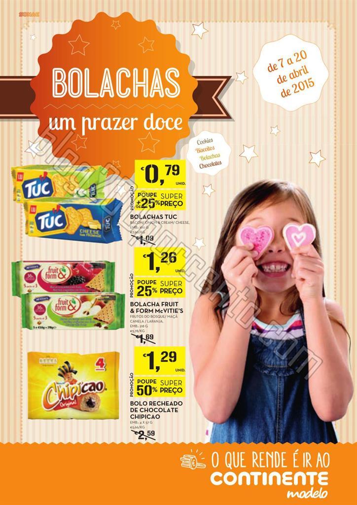 Antevisão Folheto CONTINENTE Bolachas de 7 a 20 a