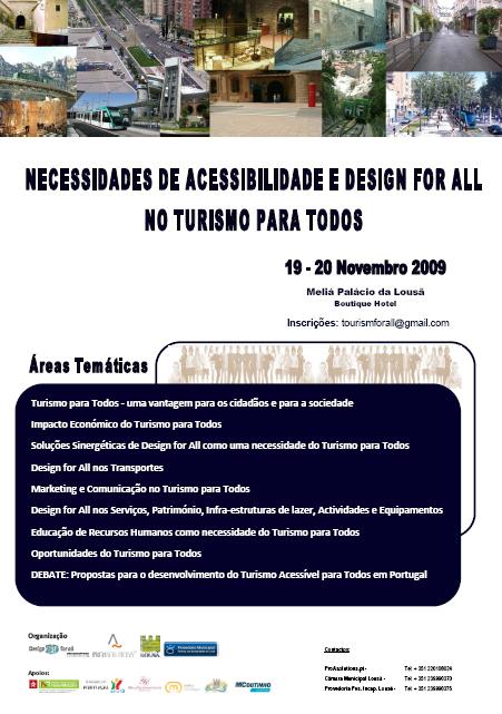 Necessidades de Acessibilidade e Design for All no Turismo para Todos