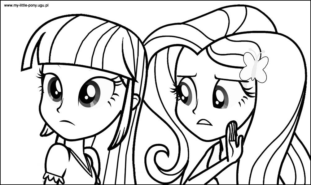 Desenhos Equestria Girl Para Colorir My Little Pony Brinquedos