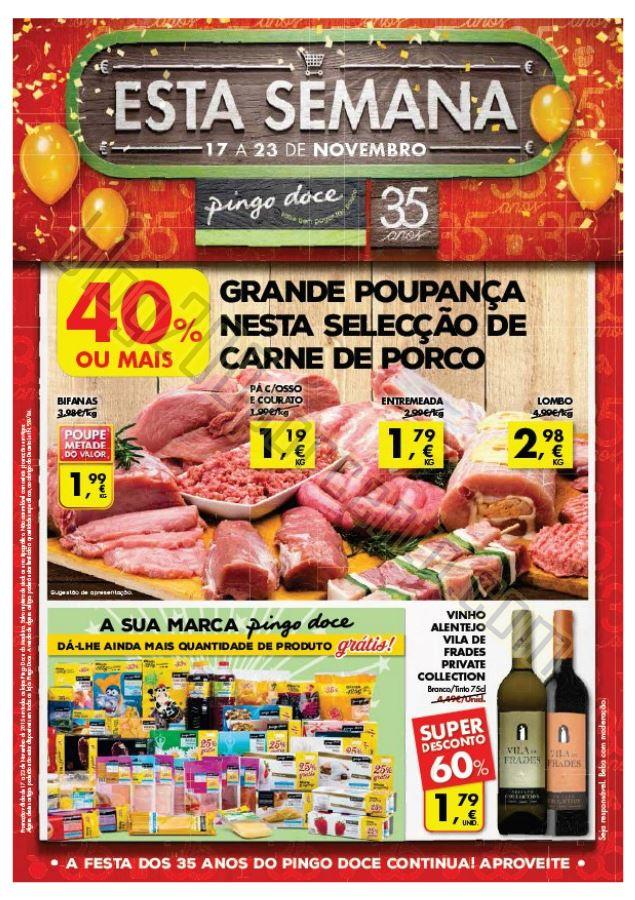 Antevisão Folheto PINGO DOCE Madeira de 17 a 23 n
