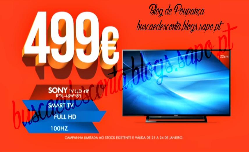 7d6124a38526a Avistamento na TV! Worten  SMART TV  - 21 a 24 de Janeiro! - Busca e  Desconta