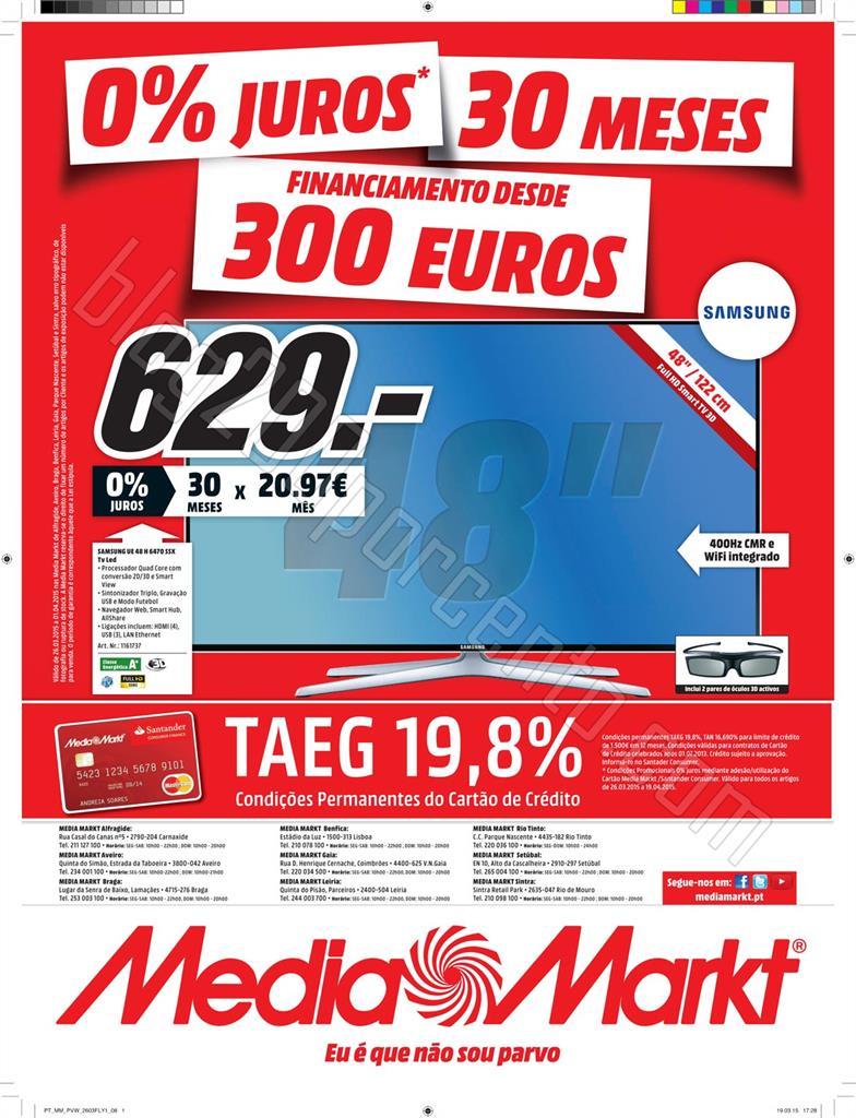 Antevisão Folheto MEDIA MARKT de 26 março a 1 ab