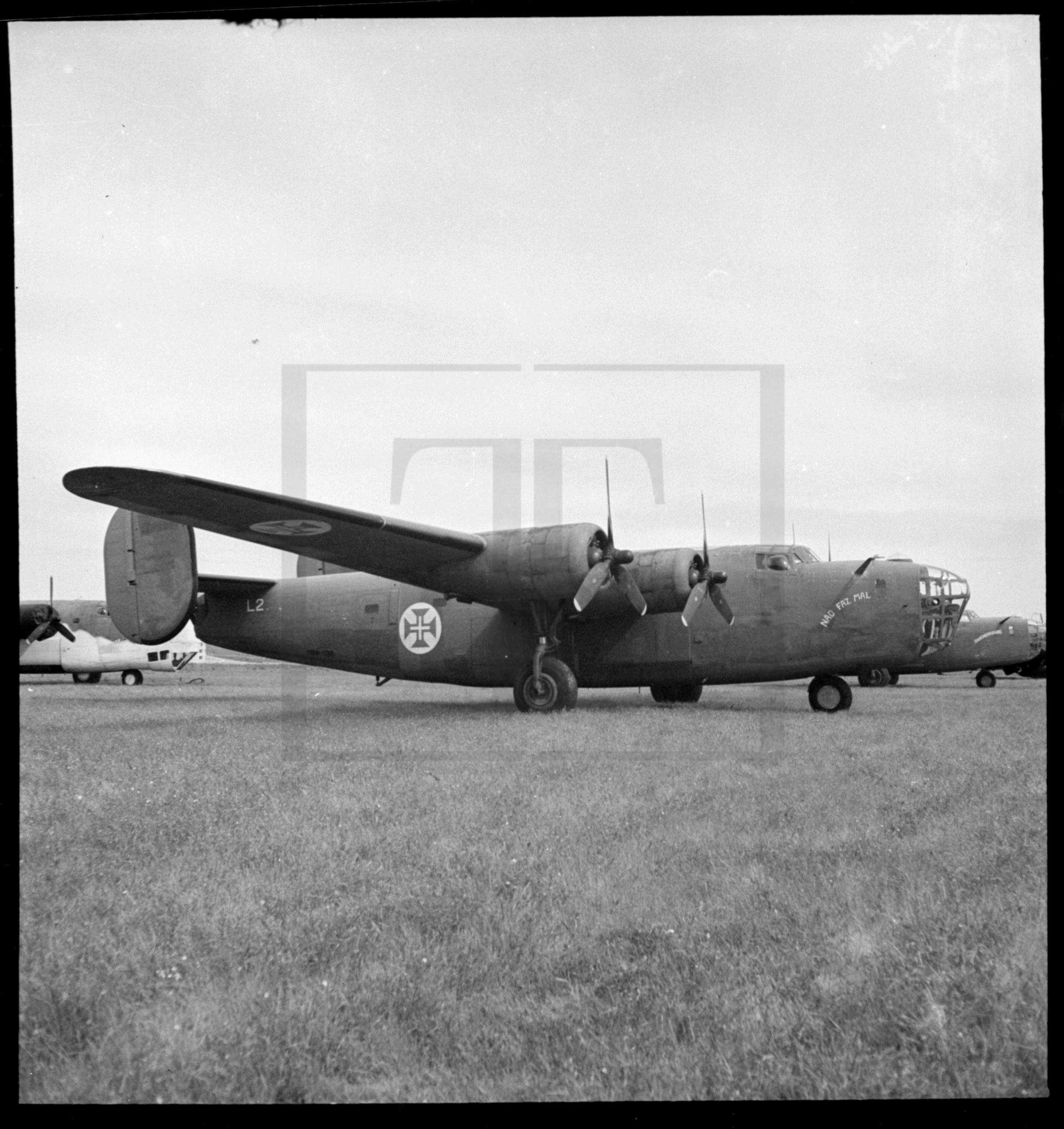Consolidated B-24 Liberator «Não faz Mal», Portugal, [1944-46 ?]
