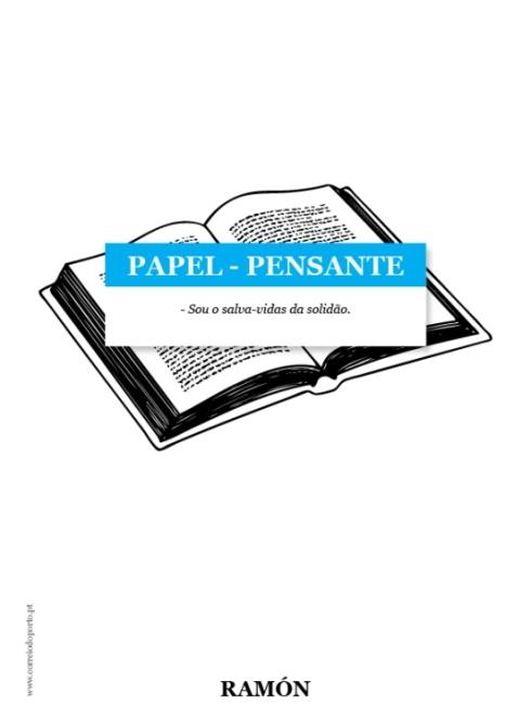 PAPEL-PENSANTE: Livro por RAMÓN