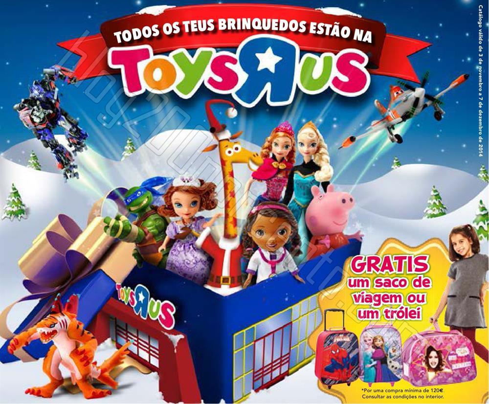 Novo Folheto TOYSRUS Brinquedos de 3 novembro a 7