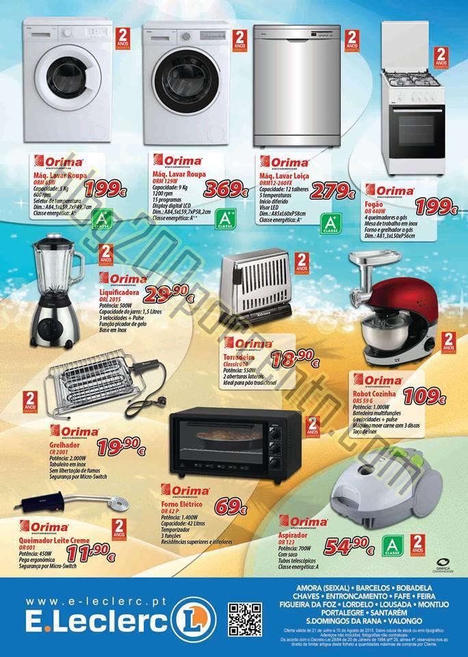 Antevisão Folheto E-LECLERC Preços de verão de