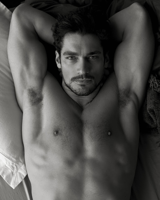 David Gandy por Mariano Vivanco