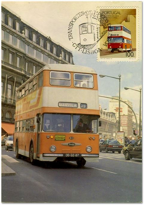 Daimler Fleetline (Trasnportes portuguese, CTT, 1989)