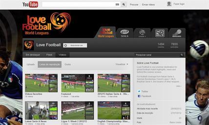 YouTube Love Football