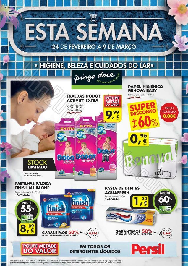 Antevisão Folheto PINGO DOCE Extra de 24 fevereir
