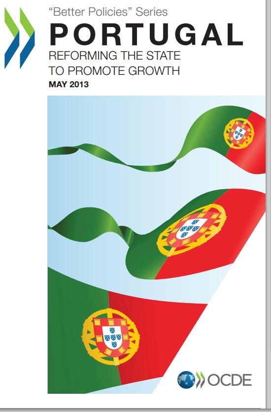relatório OCDE recomendações políticas para Portugal