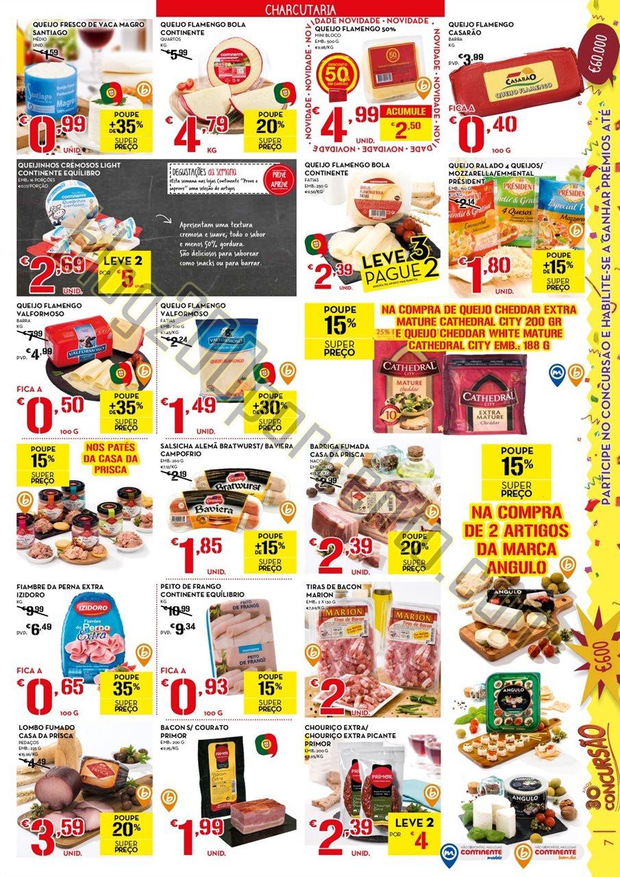 Antevisão folheto CONTINENTE promoções de 3 a 9