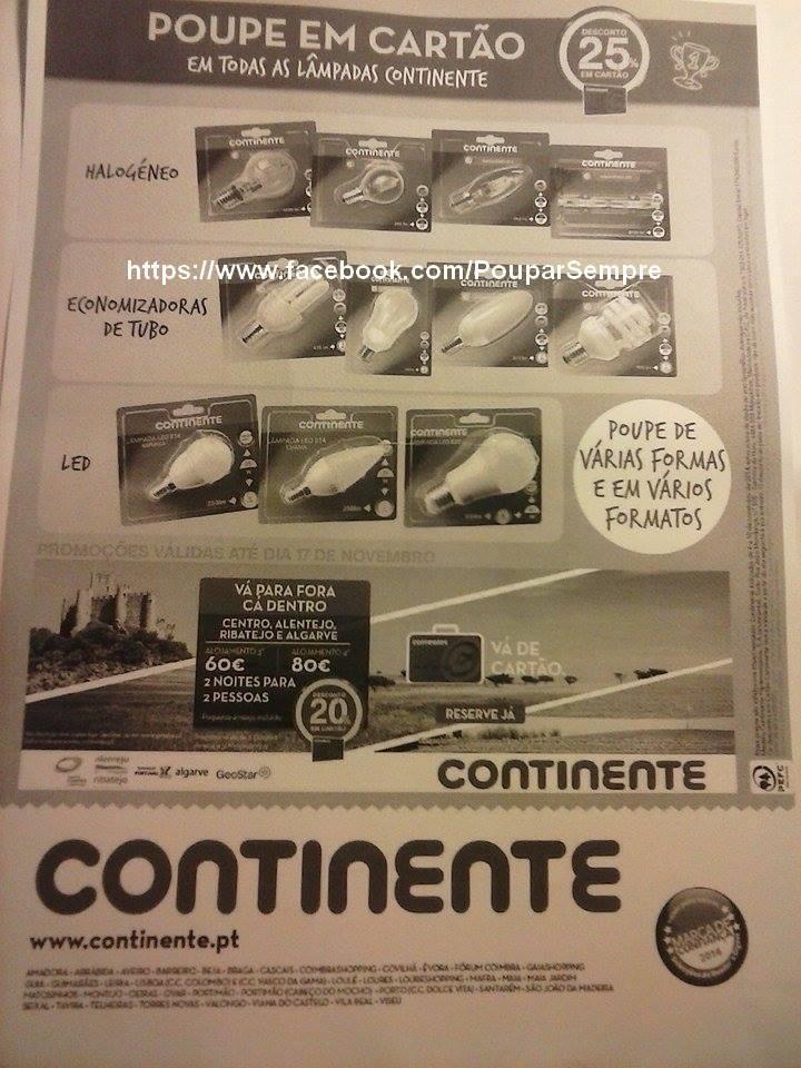 Antevisão Folheto CONTINENTE de 4 a 10 novembro p