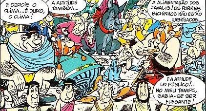 Asterix e os javalis