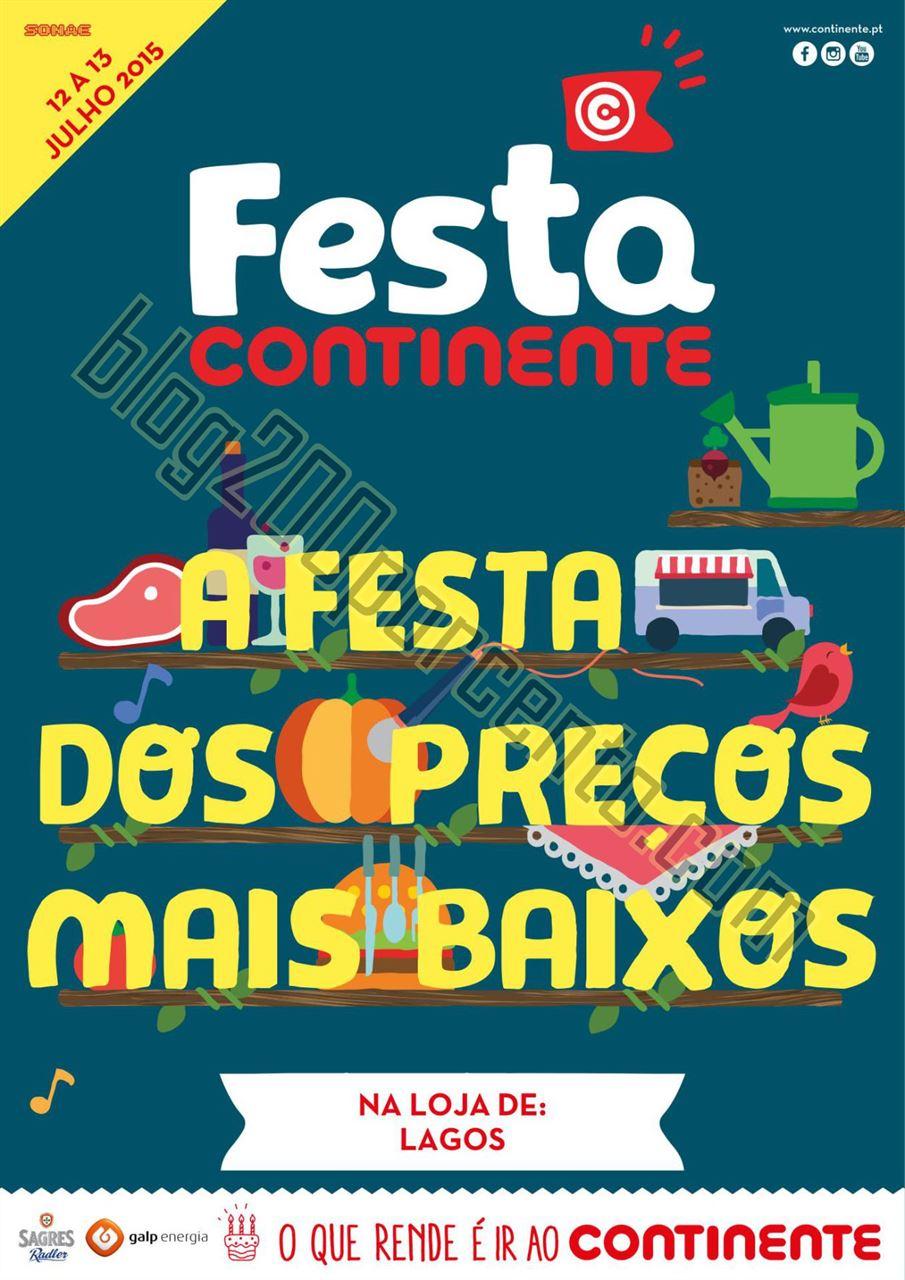 Antevisão Folheto CONTINENTE Festa dos Preços Ba