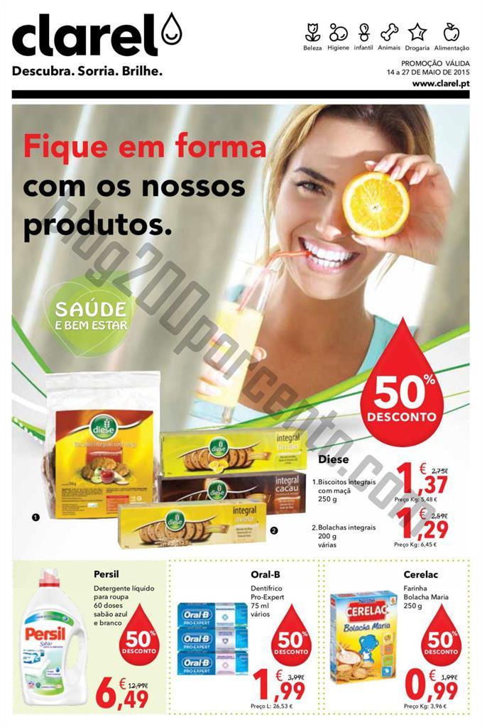 Antevisão Folheto CLAREL Promoções de 14 a 27 m