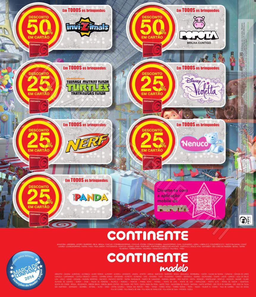 Antevisão Folheto CONTINENTE Brinquedos de 16 a 2