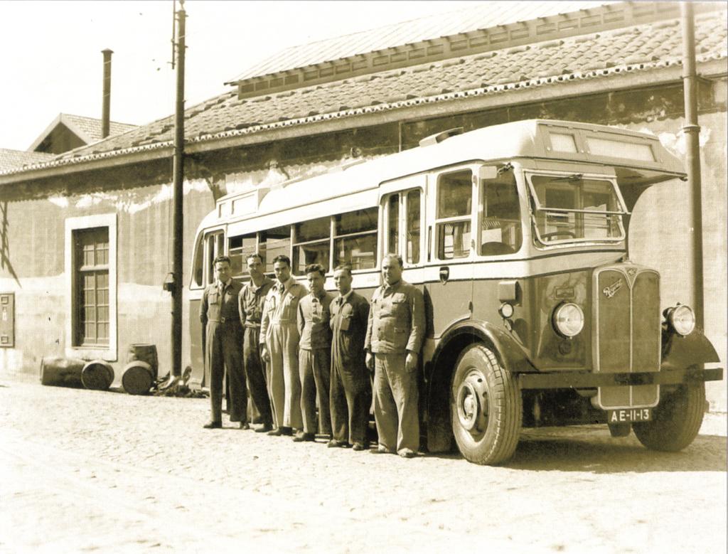 Autocarro nº 3, Santo Amaro (anos 40)