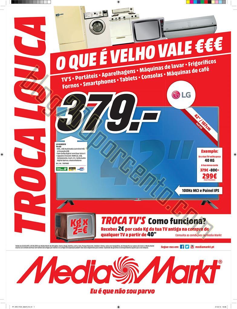 Antevisão Folheto MEDIA MARKT Promoções de 28 m
