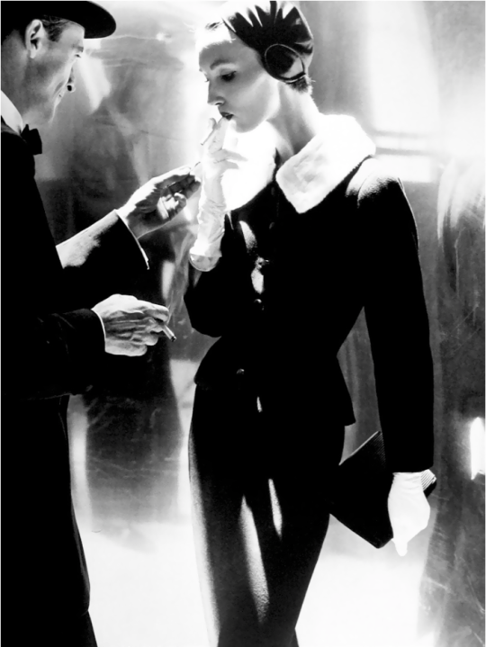 Lillian Bassman     Evelyn Tripp, New York City