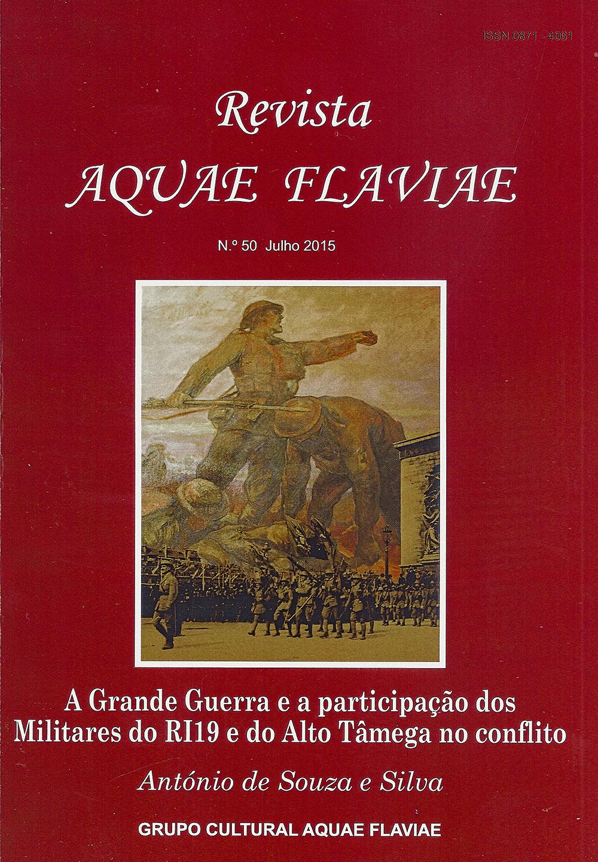 Capa da Revista nº 50 do Grupo Cultural Aqaue Fla