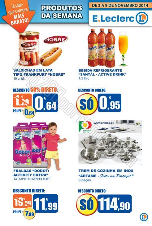 Promoções E-LECLERC Caldas de 3 a 9 novembro p3.