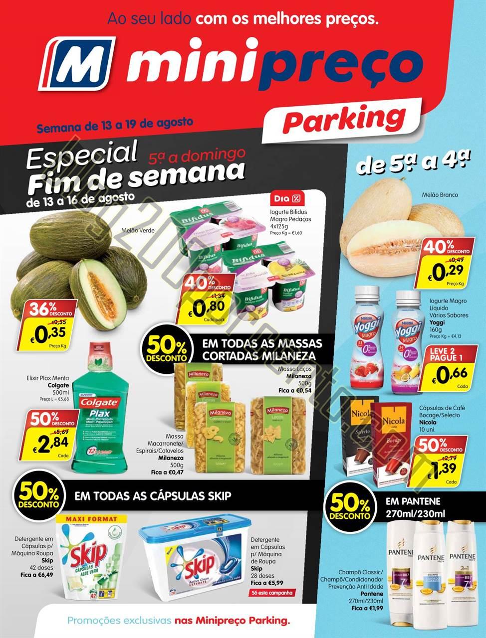 Antevisão Folheto MINIPREÇO Parking de 13 a 19 a