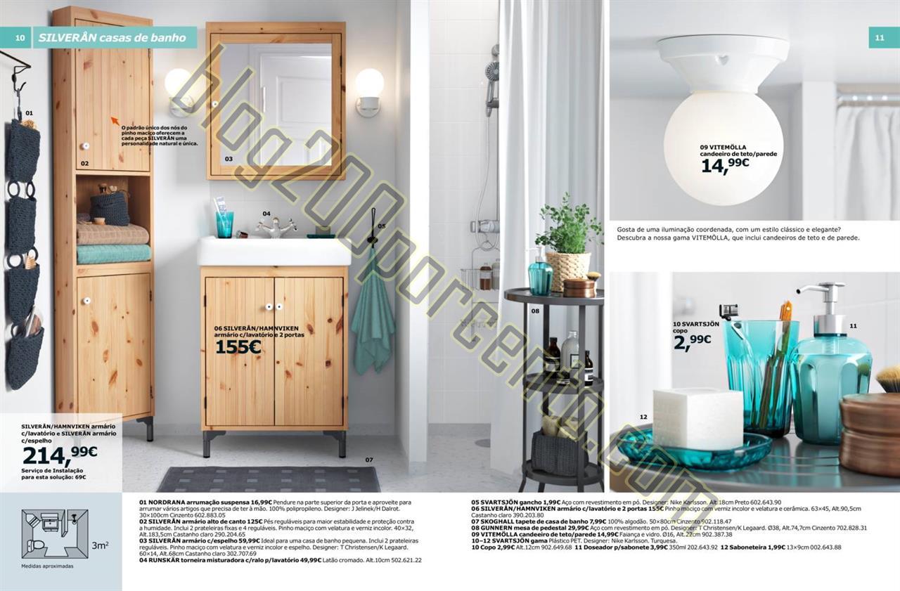 Novo cat logo ikea casa de banho 2016 promo es at 30 for Catalogo casa