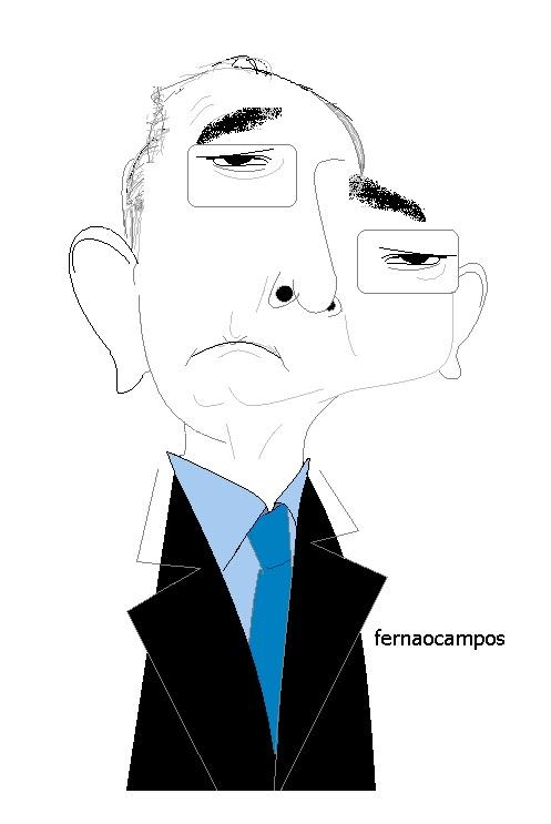 Rui Machete caricatura