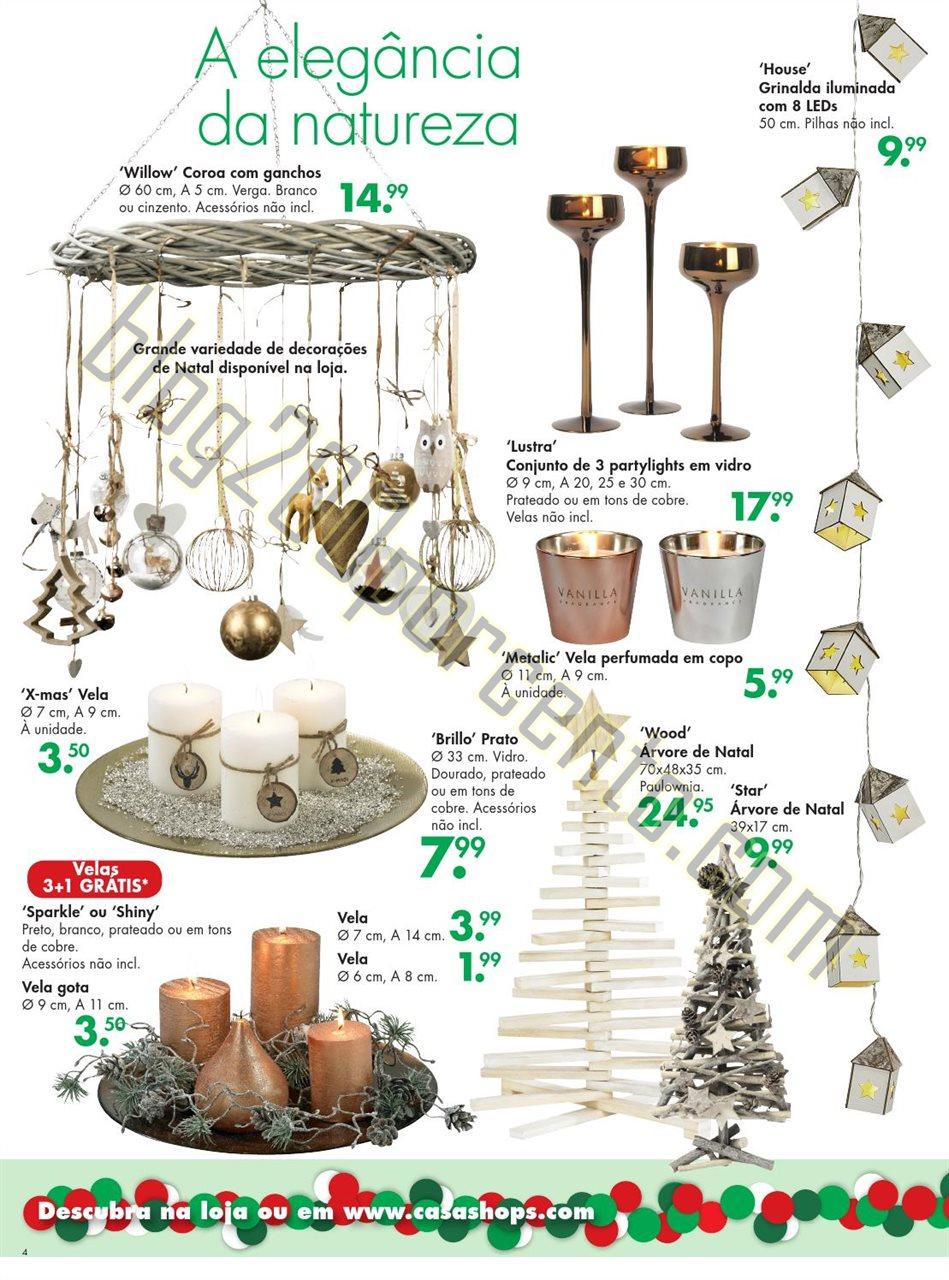 Novo Folheto CASA Natal promoções de 16 novembro