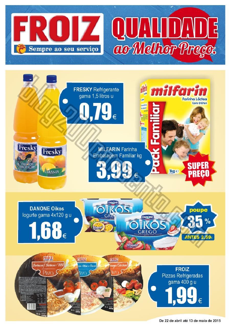Novo Folheto FROIZ Promoções até 13 maio p1.jpg